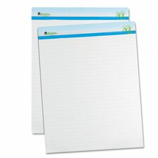 "1"" Ruled Sugarcane Based Easel Pads (2 Pack)"