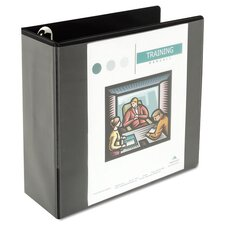 "4"" Comfort Grip Deluxe Plus D-Ring View Binder"