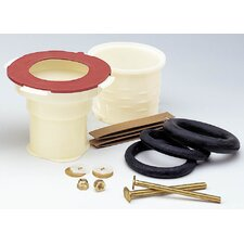 Wax-Free Toilet Installation Bowl Gasket