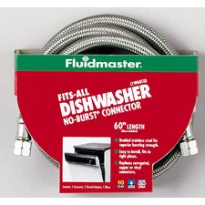 No-Burst Fits-All Dishwasher Connector California Models