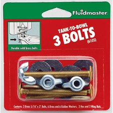 Tank-To-Bowl Bolts (Set of 3)