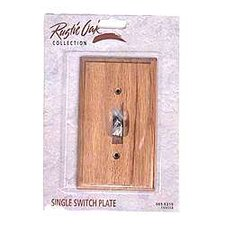 Single Gang Toggle Wallplate