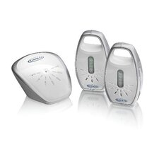 Secure Coverage Digital Monitor with Two Parent Units