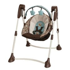 Swing By Me Portable 2-in-1 Swing