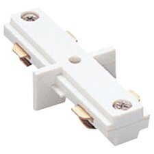 "Single Circuit Straight Line ""I"" Track Connector for Lightolier Series"