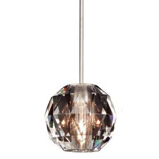 Crystal Glass Round Pendant Shade