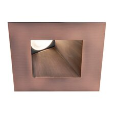 "<strong>WAC Lighting</strong> LED 3"" Recessed Downlight Wallwasher Square Trim"