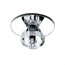 Beauty Spot Cut Crystal Ball Accent Shade in Clear