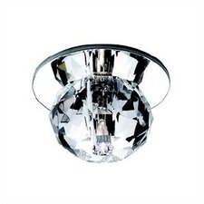 Beauty Spot Round Cut Crystal Accent Shade in Clear