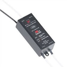 100W 12V Electronic Remote Transformer in Black
