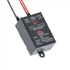 75W 12V Remote Electronic Transformer in Black