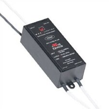 150W 24V Remote Electronic Transformer in Black