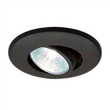 Low Voltage Recessed Eyeball Miniature Cabinet Trim with Housing