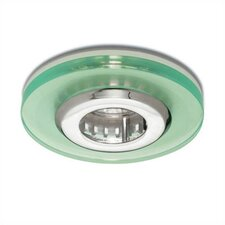 "<strong>WAC Lighting</strong> 4"" Low Voltage Acrylic Disc Recessed Lighting Trim"