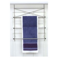 Over the Door Towel Rack in Pearl Nickel