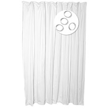 Shower Liner with Clear Rings Combo Pack