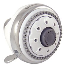 SpraySensations HydroSpin Fixed Shower Head