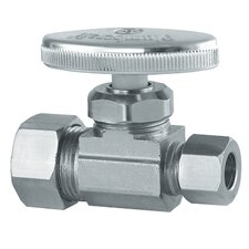 "1/2"" x 3/8"" Low Lead Straight Valve"