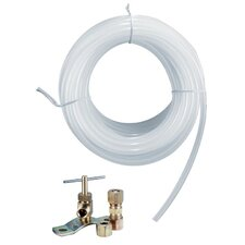 25' Low Lead Plastic Tube Ice Maker Kit