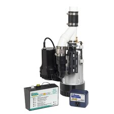 Big Combination Sump Pump System