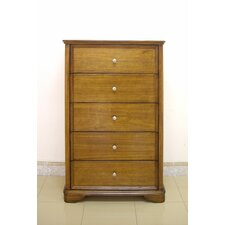 Bella 5 Drawer Chest