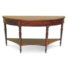 Francesca Half Round Console Table