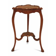 Francesca Carved Queen Ann Side Table