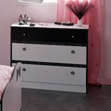 Lovely Light 3 Drawer Chest