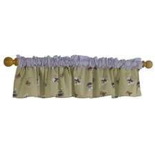 Travel Time Window Valance