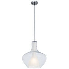 Soft 1 Light Schoolhouse Pendant