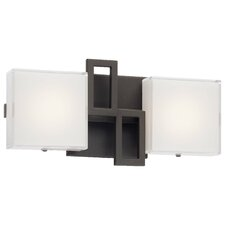 Alecia's Necklace II 2 Light LED Bath Vanity Light