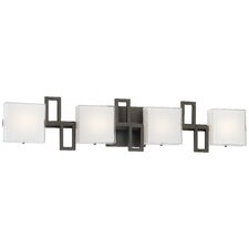 Alecia's Necklace II 4 Light LED Bath Vanity Light