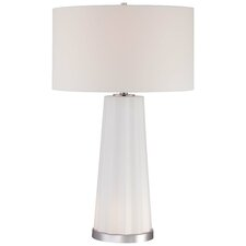 "30"" Table Lamp with Drum Shade"
