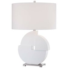 "26.25"" Table Lamp with Drum Shade"