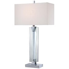 "31.5"" Table Lamp with Rectangular Shade"
