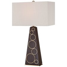 "29.5"" Table Lamp with Rectangular Shade"