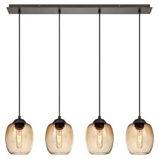 Bubble 4 Light Kitchen Island Pendant