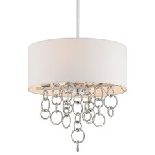 Ringlets 4 Light Drum Pendant