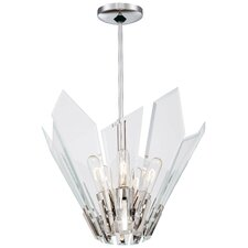 <strong>George Kovacs by Minka</strong> Glassy 5 Light Pendant