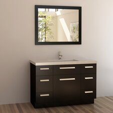 "<strong>Design Element</strong> Moscony 48"" Single Sink Vanity Set"