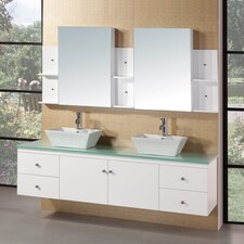 "Portland 72"" Double Sink Vanity Set"