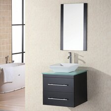 "<strong>Design Element</strong> Portland Elton 26"" Single Sink Vanity Set"