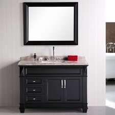 "London Hudson 48"" Single Sink Bathroom Vanity Set"