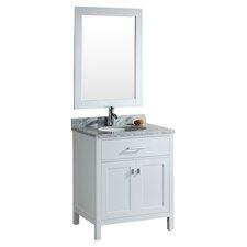 """London 30"""" Single Sink Vanity Set"""