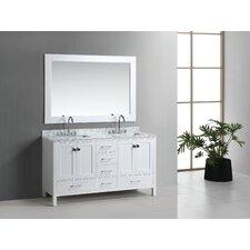 "London 60"" Double Sink Vanity Set"