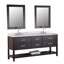 "London 72"" Double Sink Vanity Set I"