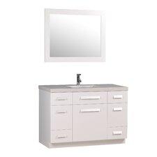 "Moscony 48"" Bathroom Vanity Set with Single Sink"