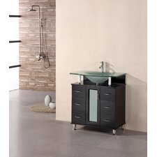 "<strong>Design Element</strong> Huntington 30"" Single Sink Vanity Set"