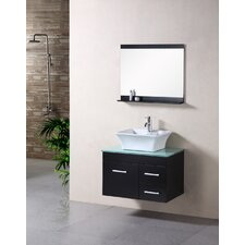 "<strong>Design Element</strong> Madrid 30"" Single Sink Vanity Set"
