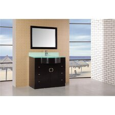 "Aria 40"" Modern Bathroom Vanity Set"